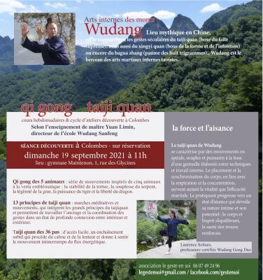 cours de taijiquan du Wudang